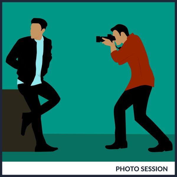 photo session deposit