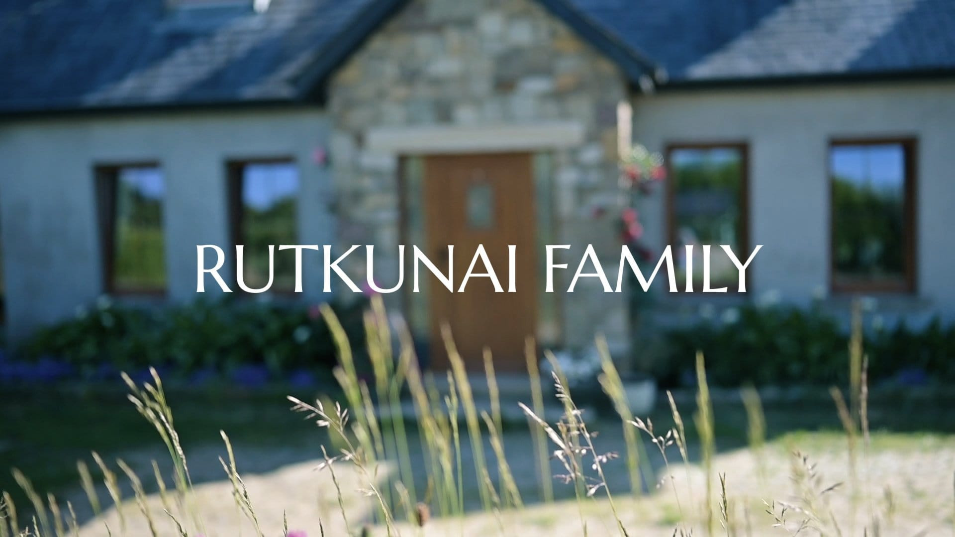 family house from videography session with ratkunai family