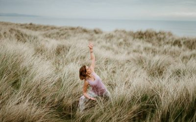 Wexford dunes for a spiritual personal branding photography session